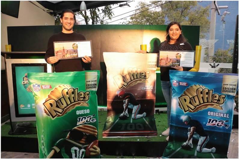 Diseña con Ruffles impulsó a jóvenes mexicanos a que explotaran dos pasiones: la creatividad y el fútbol americano, el resultado fue el siguiente.
