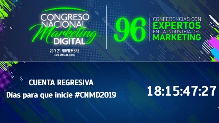 Si aún no tienes boleto para el Congreso Nacional de Marketing Digital 2019, no te quedes sin el y aparta tu lugar, faltan 2 semanas.