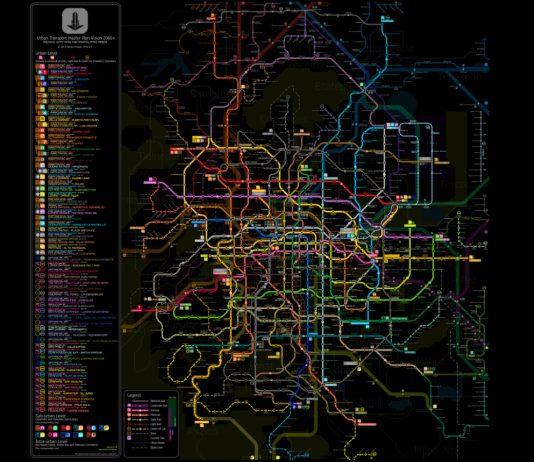 ¿Sabías que existe un plano con la red de autobuses o con las ciclopistas de la CDMX? Clarion Project creó mapas de la CDMX tan impresionantes como útiles.