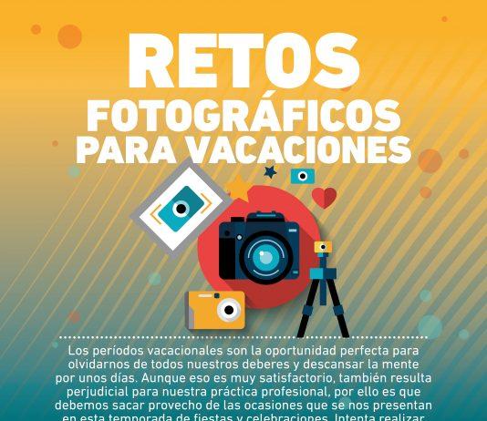 Si necesitas ideas para seguir practicando al mismo tiempor que disfrutas de tus vacaciones, estos retos fotográficos son tu opción perfecta.
