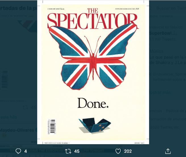 Brexit portadas periodísticas creativas