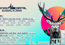 Diseño de cartel Corona Capital