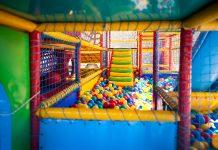 interiorismo con juegos infantiles