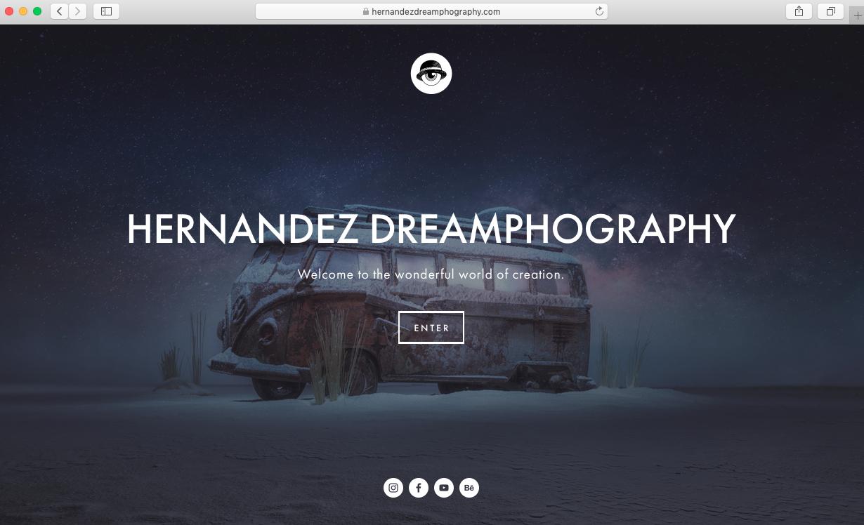 crea tu primer portafolio web