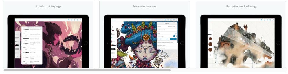 Apps gratuitas de iPad para diseñadores
