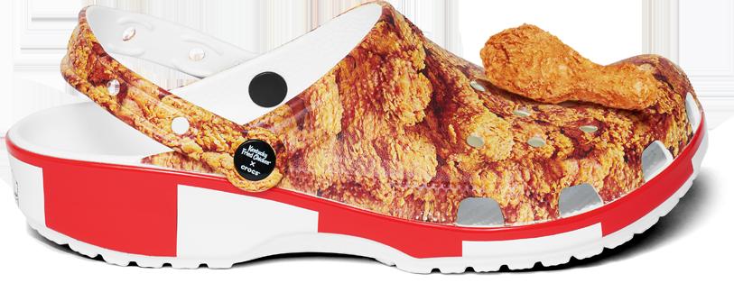crocs pollo frito KFC