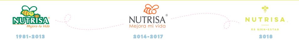 evolución logo nutrisa