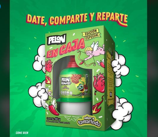Pelon Pelo Rico Packaging San Valentín