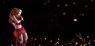 Botas Shakira medio tiempo Super Bowl