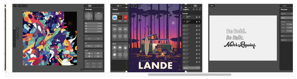 Free iPad apps for designers
