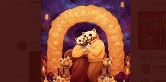 ilustraciones de gatitos