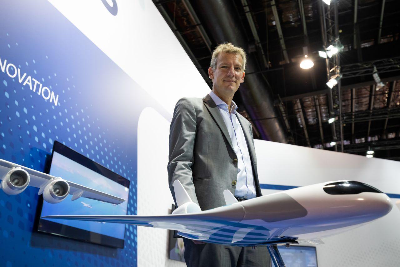 Maveric avión con diseño futurista de Airbus