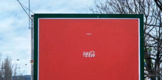 Coca-cola campaña marca invisible