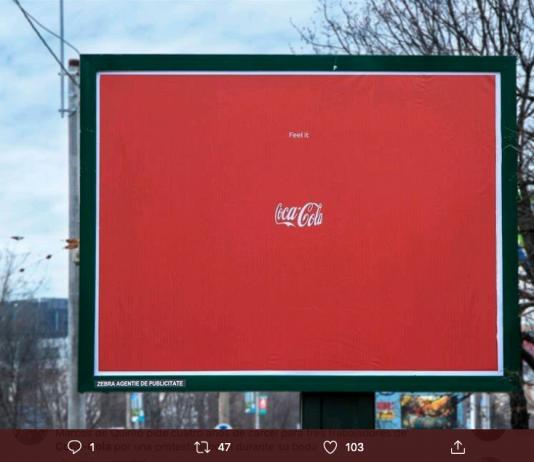 Coca-cola campaña marca invisible