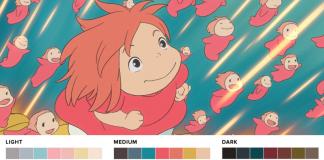 Colores películas Studio Ghibli