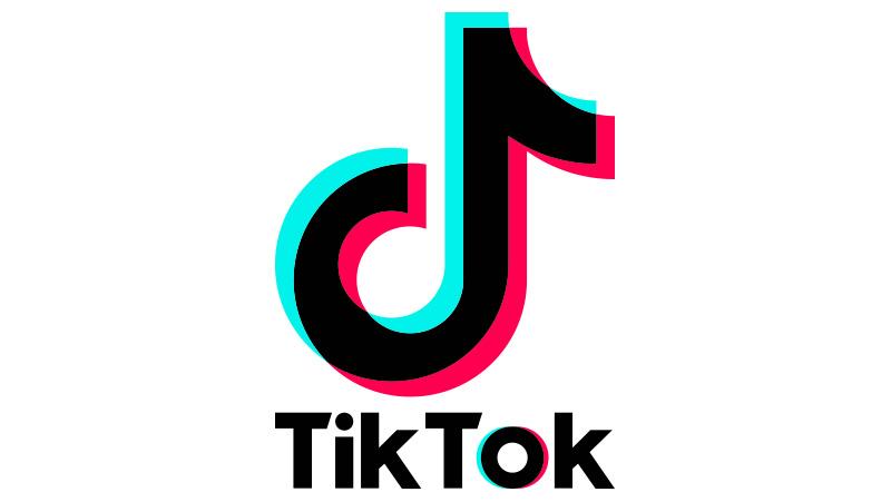 Regalos y productos: Logotipo Azul De Tik Tok | Redbubble  |Tiktok Para Pintar