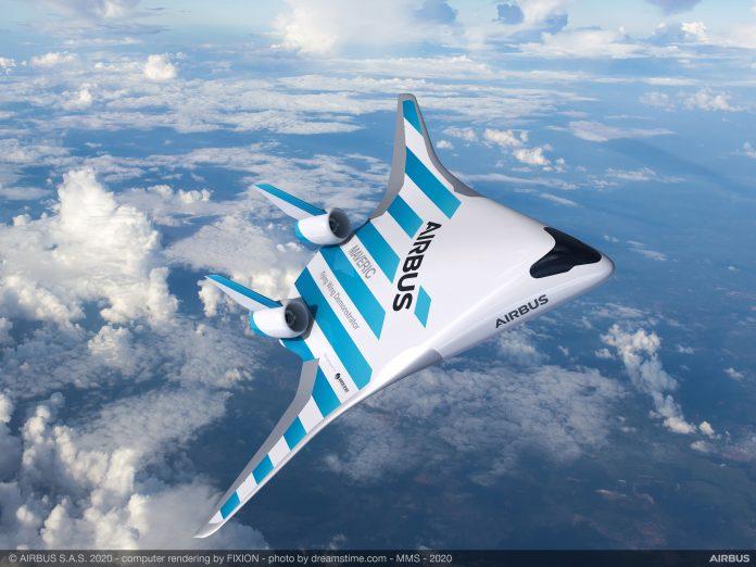 MAVERIC, avión con diseño futurista de Airbus