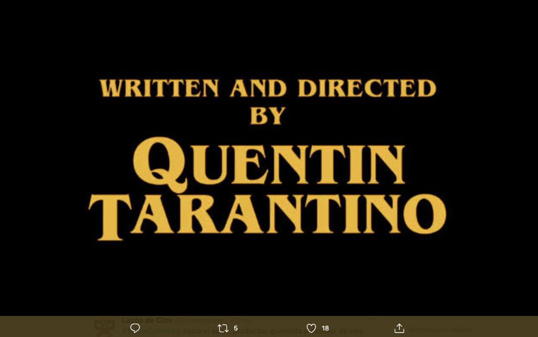 marcas y logos Tarantino