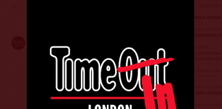 Time Out Logo coronavirus