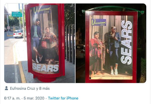 Sears anuncios clasistas