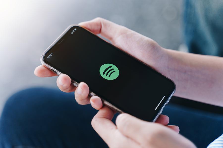 Spotify interfaz