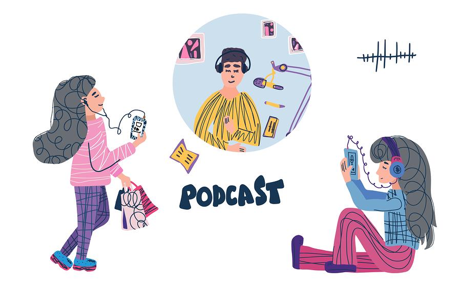 podcast audífonos