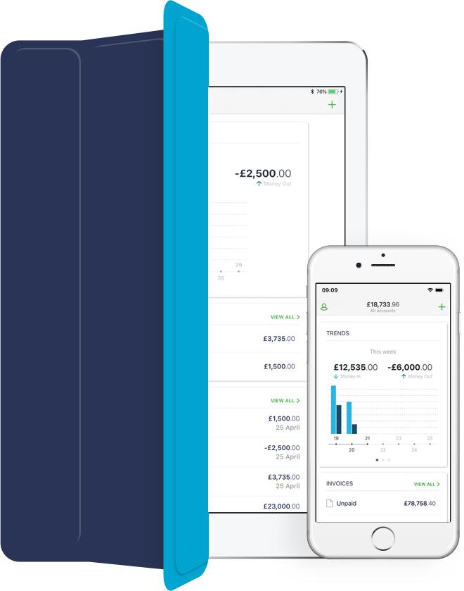 Sage Integration Mobile Screen