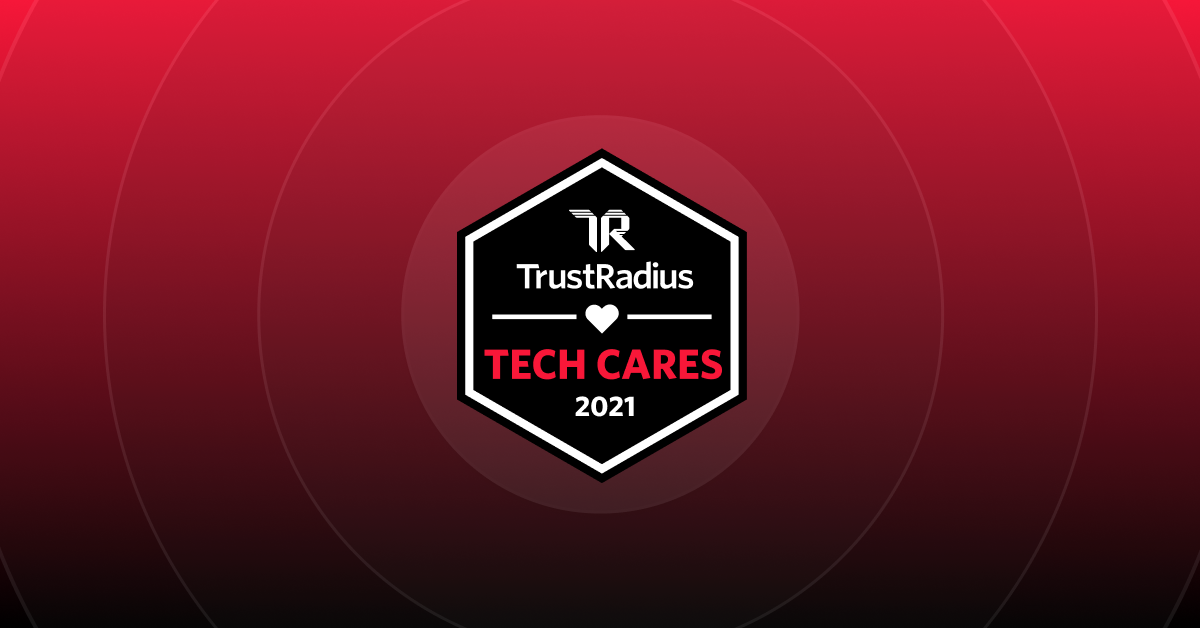 Tech Cares Trust Radius Award Winner