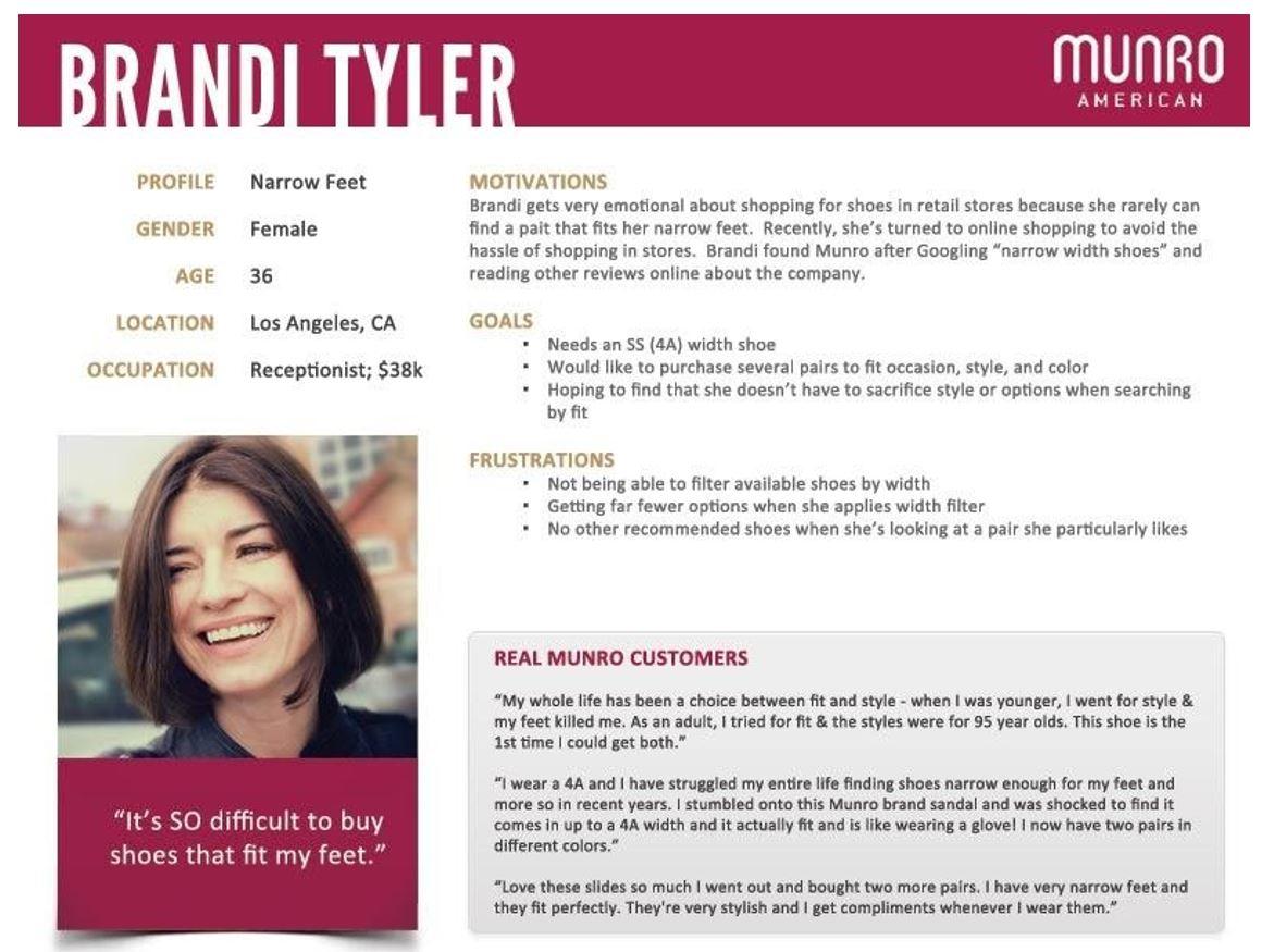 Customer Profile: Brandi Tyler