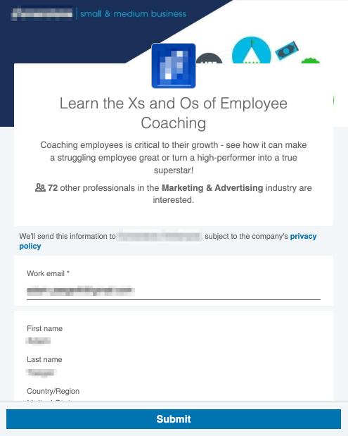LinkedIn Lead Gen
