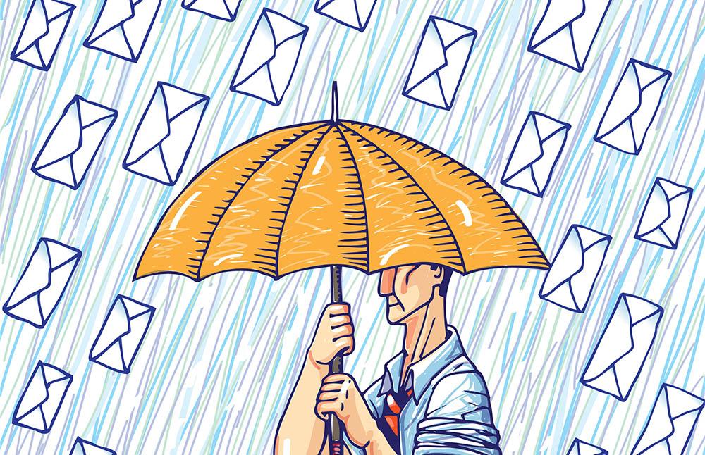 Sender Reputation: control number of emails sent