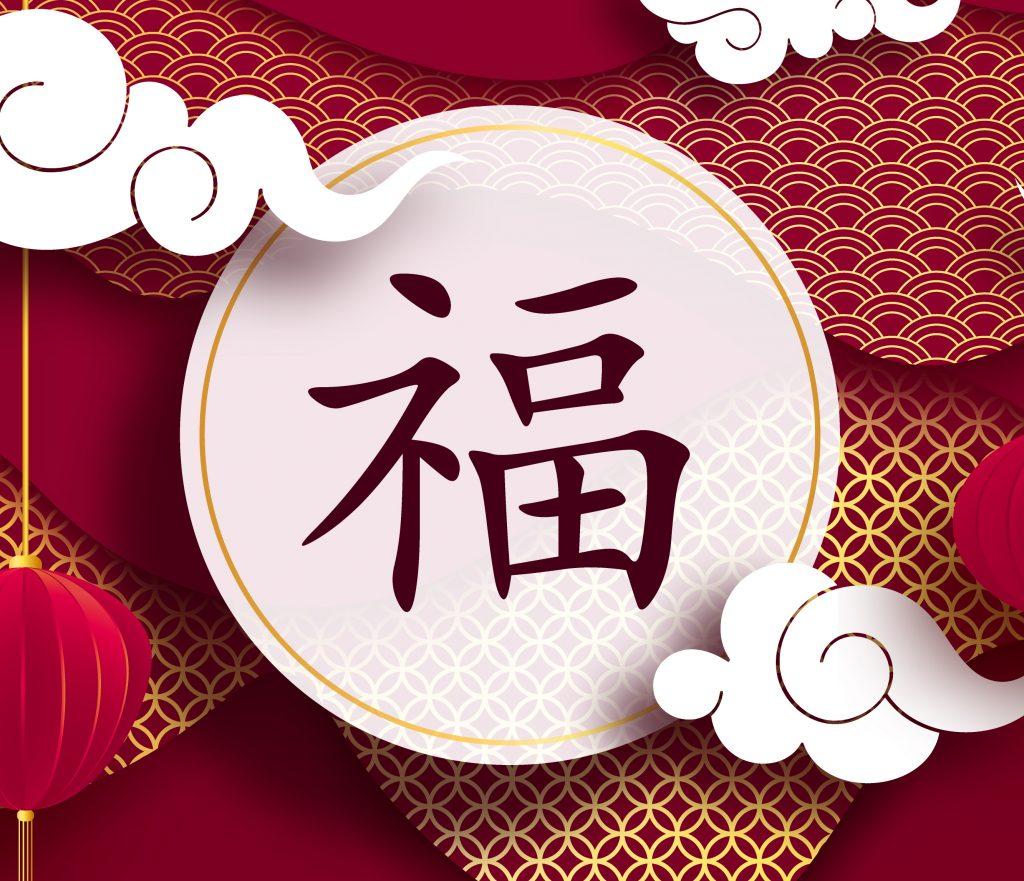 Chinese New Year Decoration Fu