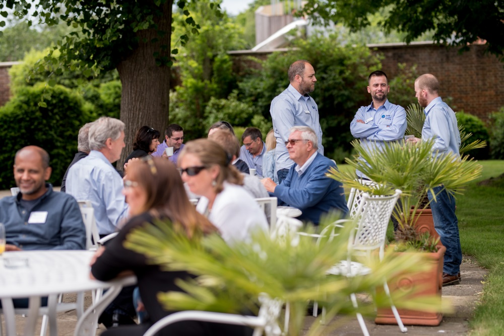 Really Simple Systems User Conference in Hampton Court Garden