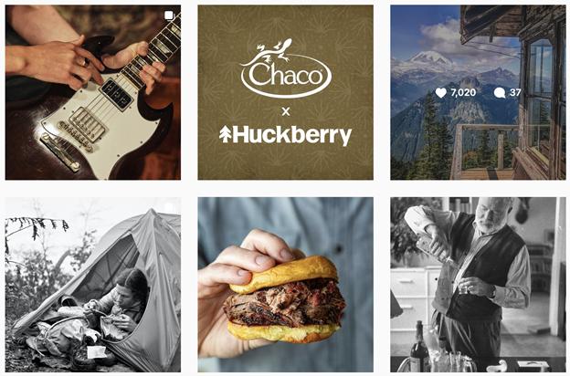 user-generated content from Huckberrt