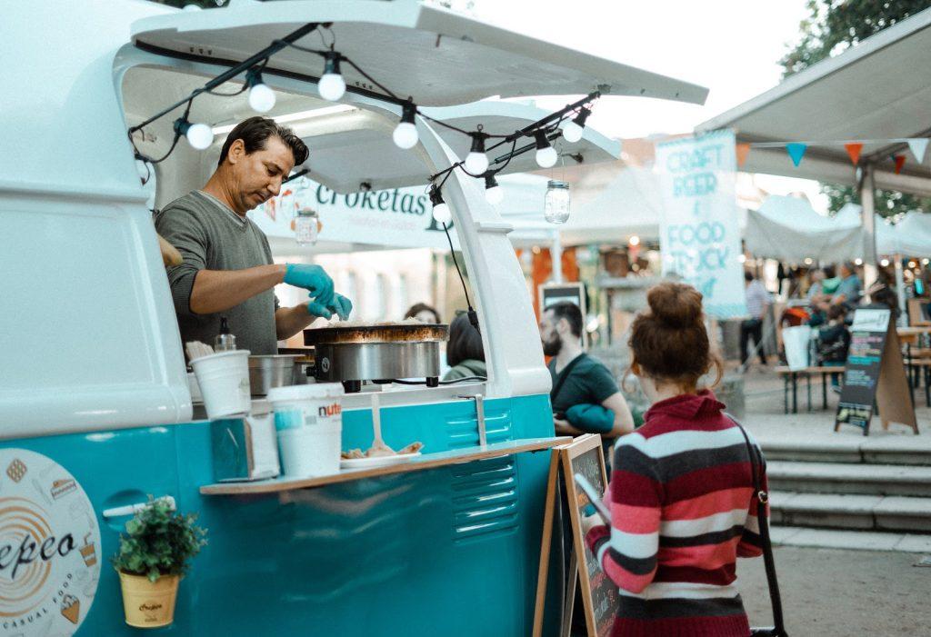 Industries for startups - catering vans