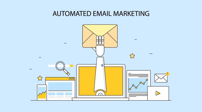 Run automated email marketing
