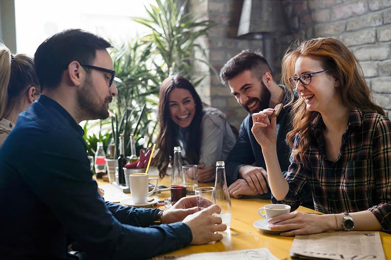 sales kick-off meeting socialising