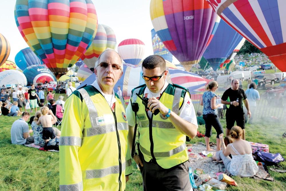 British Red Cross Balloon Festival Event