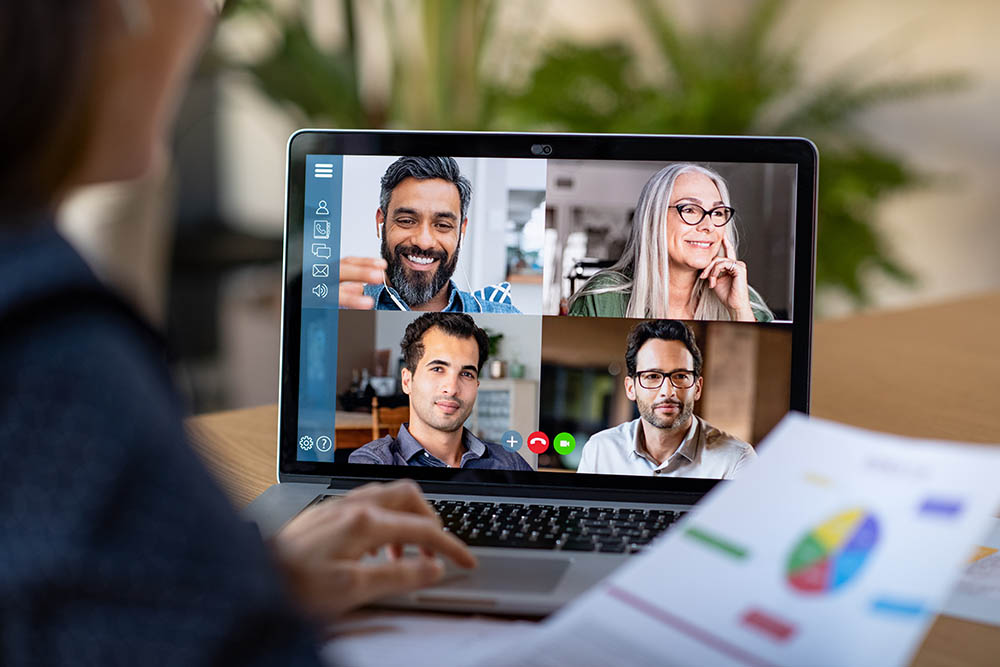 video conferencing tech for remote working communication