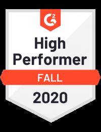 G2 High Performers medal