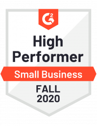 G2 High Performer Software for Small Business