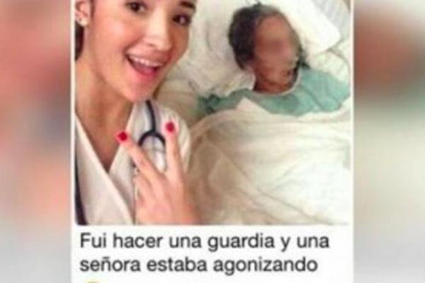Selfie-Estudiante-Medicina-Paciemte-Cancer