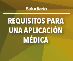 Requisitos para una aplicación médica