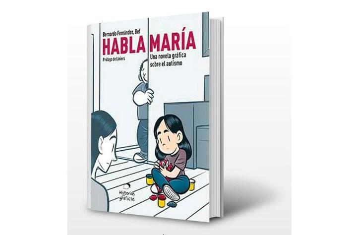 El autor tiene una hija pequeña con autismo, por lo que su obra narra en primera persona lo que implica convivir con alguien que tiene este padecimiento.