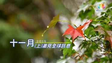 《 2019年11月(上)-澈見全球訊息 》