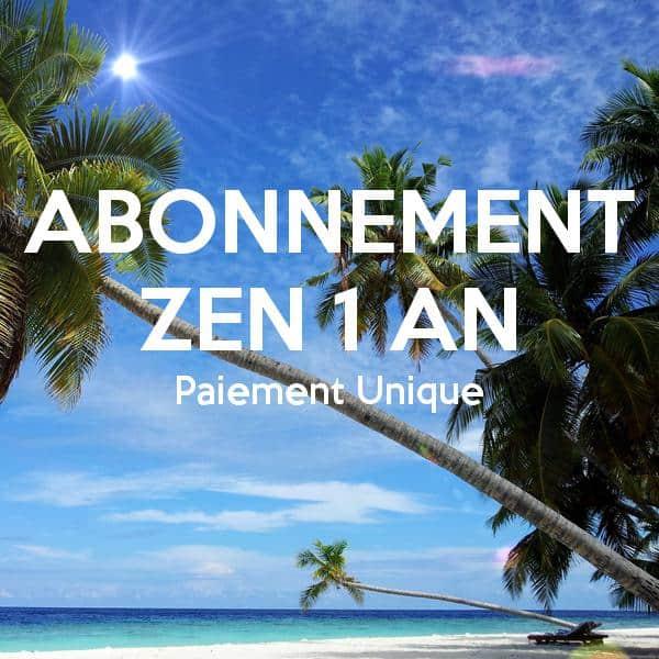 Abonnement Zen 1 An