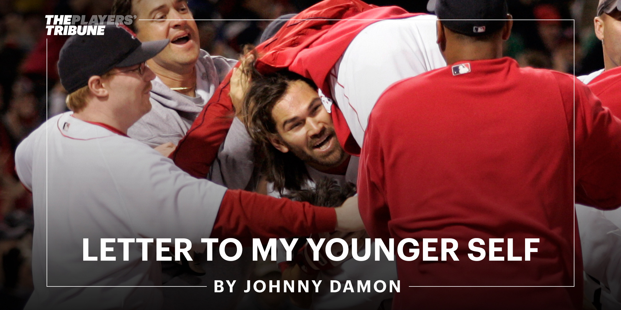 Famous Baseball Players Write Letters to Their Younger Selves - cover