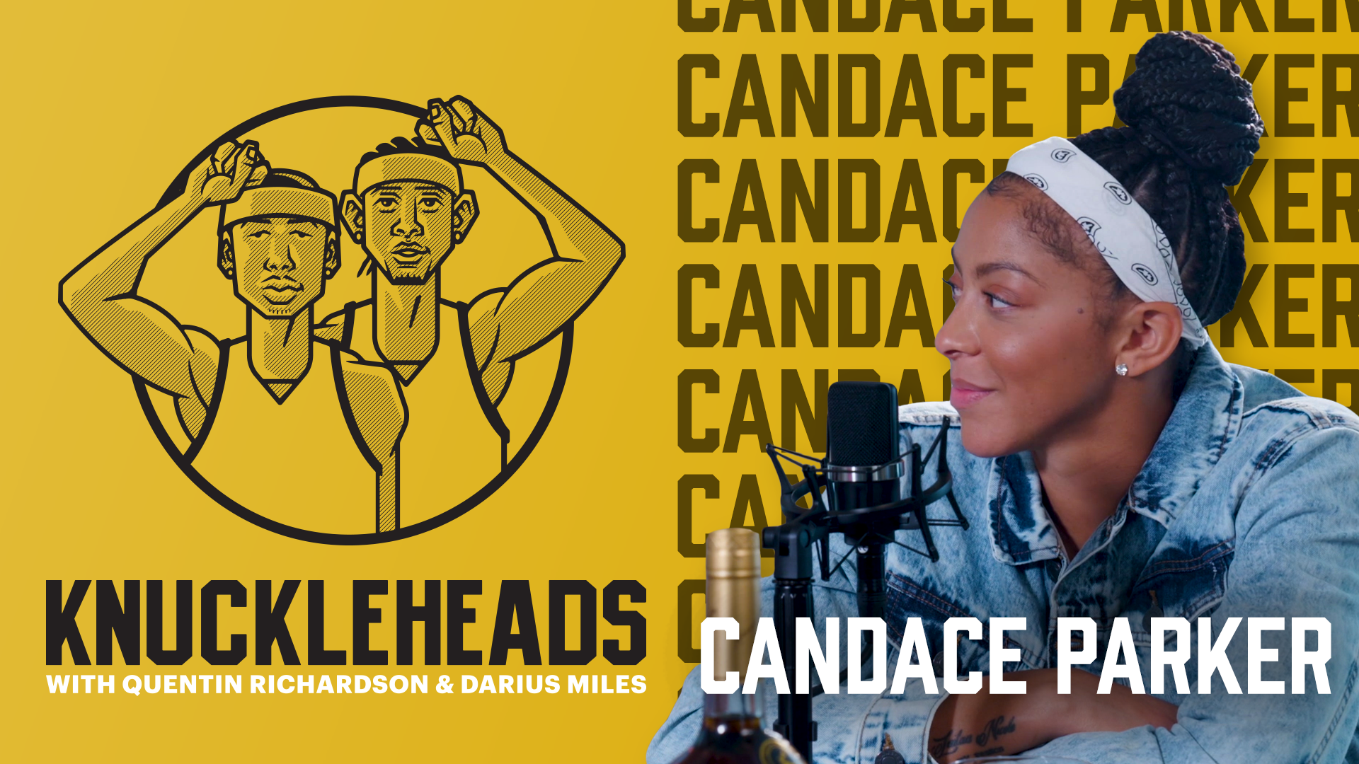 Posted Up with Candace Parker | Knuckleheads