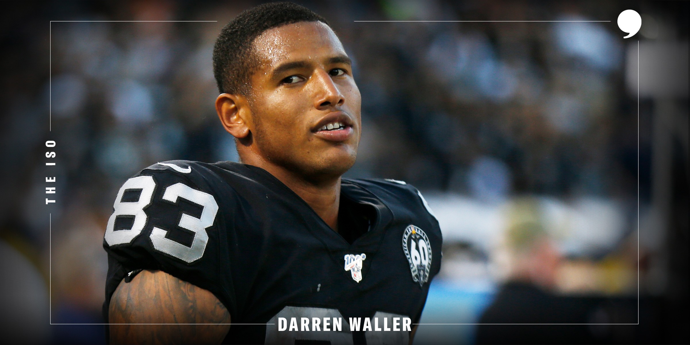 The Iso: Darren Waller