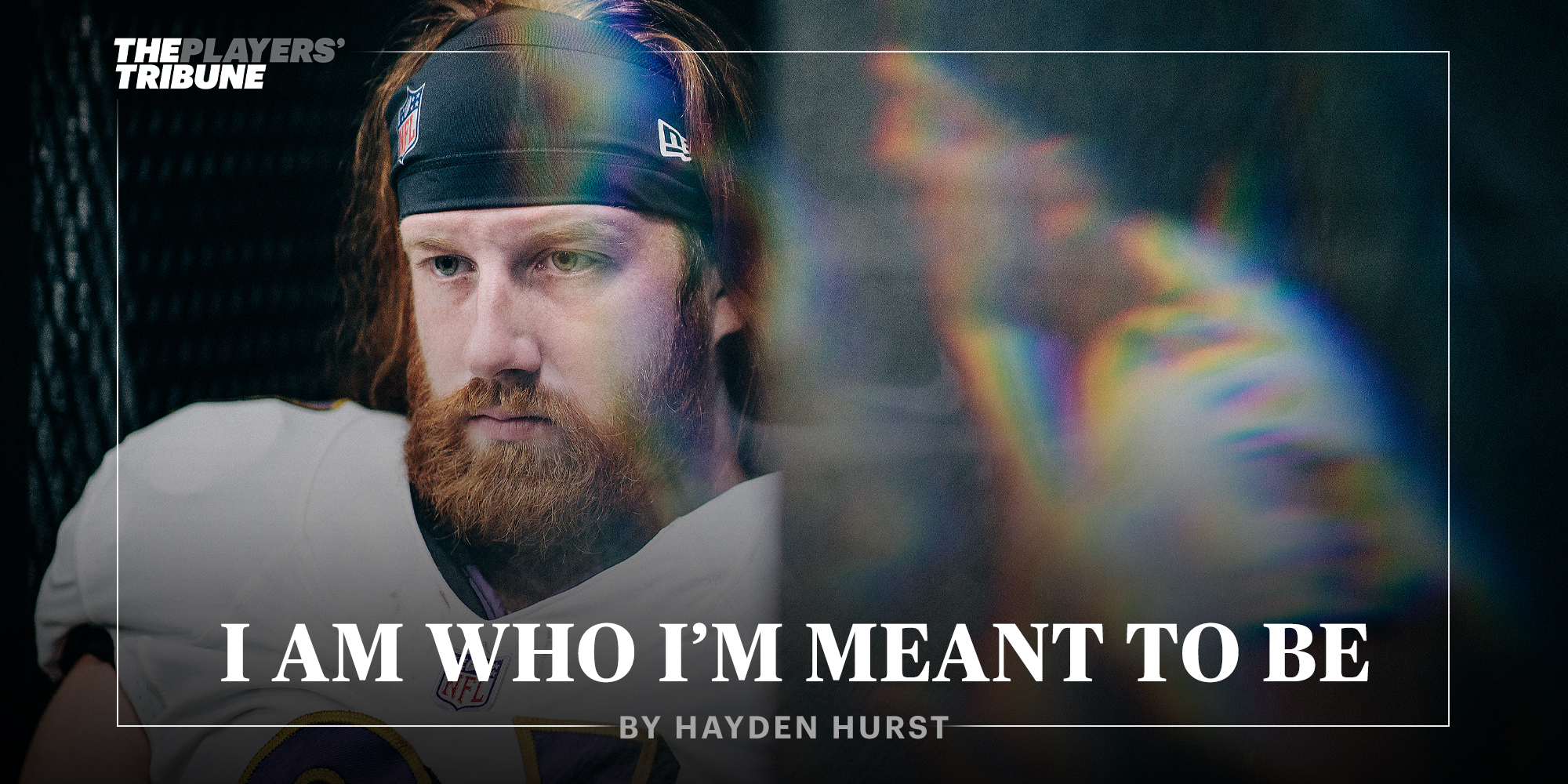 I Am Who I'm Meant to Be | Hayden Hurst